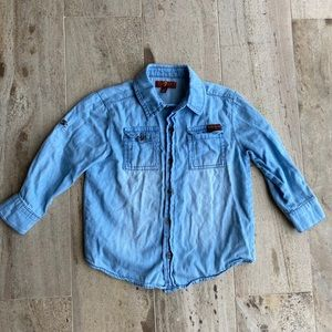 7 For All Mankind Jean Shirt Size 2T